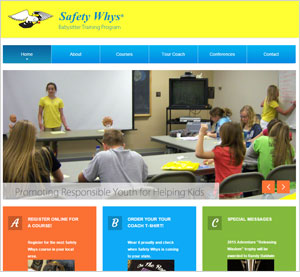 Homepage of the Safety Whys website